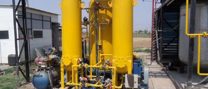 PSA Based Biogas purification unit