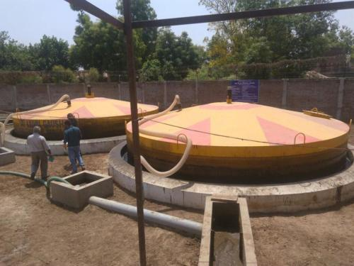 2 x 85 cum Biogas plants @ Satkeval Dham, Sarsa, Anand