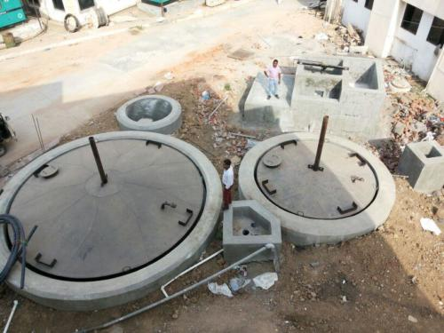 Food waste based Biogas plant